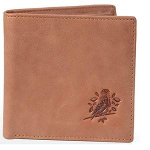 Other - Brown RFID Leather Wallet with Gift Box